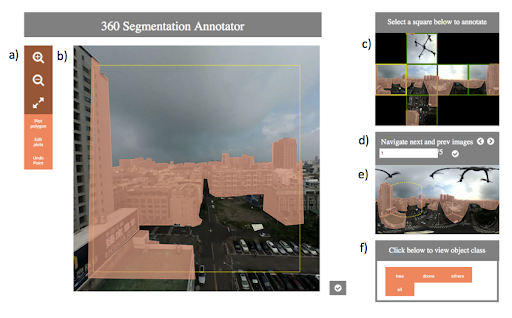 Label360: An Implementation of a 360 Segmentation Labelling Tool